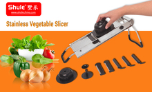 stainless steel hand operation kitchen vegetable cutter home durable chinese food machine