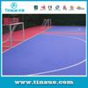 Eco-friendly indoor soccer flooring