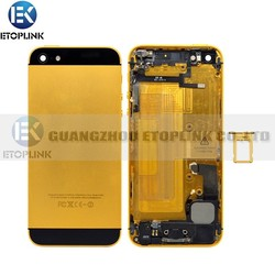 replacement parts for iphone 5 back cover housing,housing for iphone 5 back case