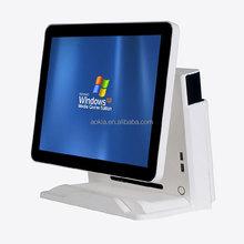 AK-915T Touch Screen POS Terminal restaurant supermarket bill payment machine