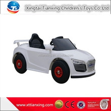 High quality best price wholesale ride on car/remote control battery power and PP plastic type kids race car promotional product