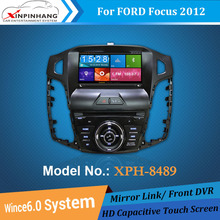 8 Inch Screen Car DVD Player For Ford Focus 2012, TPMS, RDS Radio, GPS