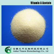 High quality Vitamin A Acetate, 100-200miu/g and 32.5-50miu/g CWS