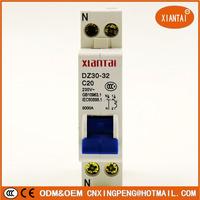 High Quality 1P+N 6KA Mini Circuit Breaker Mcb DPN DZ30-32A 1P32A