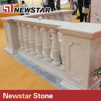 Newstar small indoor decorative marble columns for sale