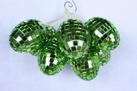 Fancy Artificial Foam Easter Eggs with String / shenzhen disco party eggs