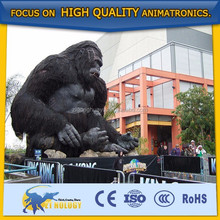 New Theme Park Equipment Animal Model King Kong
