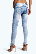New Style fashional hot sale women jeans with latest design