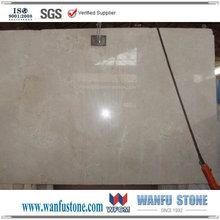 Polished Spanish Beige Color Crema Marfil Floor Tile Marble
