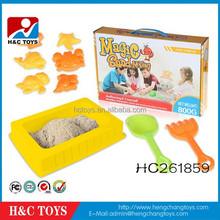 Kids educational toy DIY colorful magic play sand toys magic modeling sand HC261859