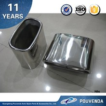 304 Statinless Steel Exhaust Pipe Muffler Tips for BMW X5 E70 2007-2010 Auto accessories from Pouvenda