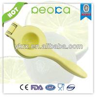 metal Alloy lemon juice press/meatal combined kitchen gadget