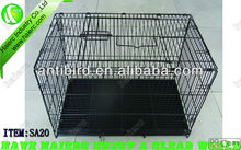 6 Sizes Metal Outdoor Dog cage Kennel SA20 with ABS Tray