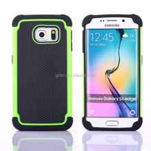 Premium impact and anti-skid case for Samsung Galaxy S6 Edge mobile rubber skin