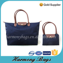Quanzhou factory unique portable folding shopping bag