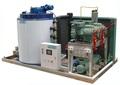 Frutos do mar de gelo fábrica de processamento de refrigeração da máquina de fazer gelo