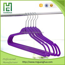 velvet coat hanger,velvet suit hanger, decorative coat hanger