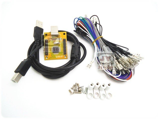 image for 1 Kit For Arcade To USB Controller 2 Player MAME Multicade Keyboard En