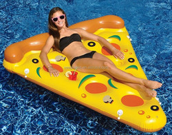Special design Inflatable Pizza Slice Float Raft Fun Water Toy