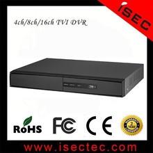 H.264 HD 1080 P P2P TVI DVR