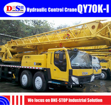 Hydraulic Control 70T Truck Crane XCMG Brand QY70K Mobile Crane For Sale