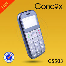 Senior cell phone tracker with SOS emergent button/FM radio/7 days long stanby Concox GS503