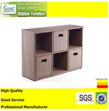 Good Quality PE rattan Closet Cabinet for Home
