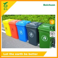 Baichuan Cheap Durable New Plastic Outdoor Trash Can