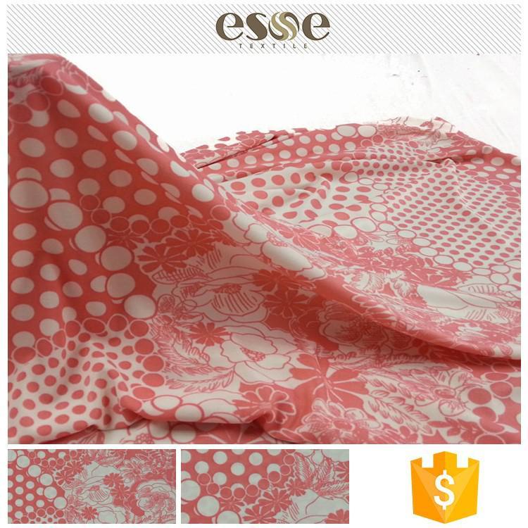 Neueste design 2017 hotsale jacquard textil stoff frauen restposten stoff in china