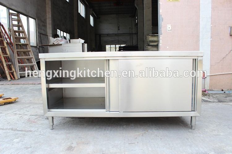 Kitchen Working Table With Sink/work Table With Cabinet/kitchen ...