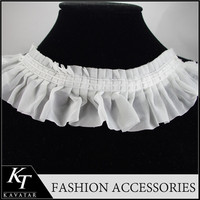Best price high-end collar pattern neck design of blouse
