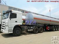 DTA water truck,water tanker,water wagon /semi-trailer water tanker stainless steel tank /water pump/ High pressure squirt gun