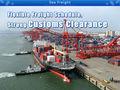 Logística empresa flete marítimo envío barato de china proveedor de servicios / despacho aduanero