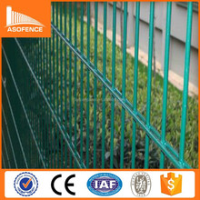 Anping a.s.o fence low price metal powder coated twin wire fence