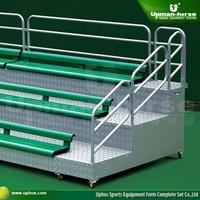 Aluminum Mobile Modular Grandstand ,outdoor aluminum stadium bleachers