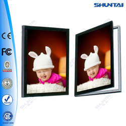 Various styles wholesale aluminum led light christmas picture frame