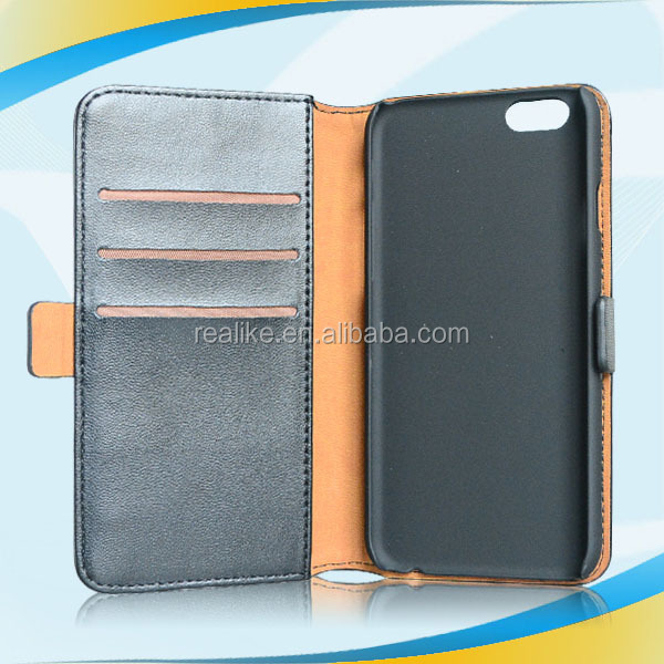 Excellent stylish new arrival for iphone 6 cross leather case