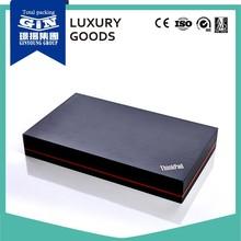 Luxury handmade black gift box design for Pad