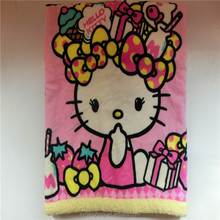 Wholesale super thick cotton baby blanket