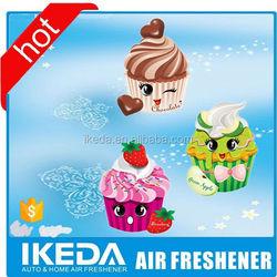 Gift set paper auto air fresheners