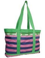 Recycle Woven Plastic Beach Bag Beach Bag With Speaker