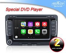Two din car DVD for Volkswagen(Mogtan/Sagitar/Golf-5/Golf-6/Jetta/Tiguan/Seat/Bora/EOS
