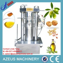 AZEUS brand hydraulic type Small olive oil press / Soybean oil mill
