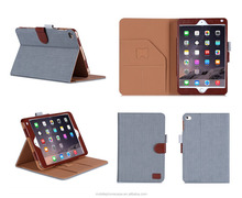 2015 good quality folio tablet case for ipad mini4 , chinese factory price for ipad mini4 case