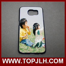 Promotional 2D Sublimation Phone Case For Samsung S6 With Metal insert