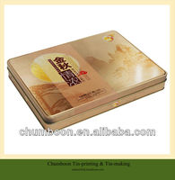 Rectangular Mooncake tin box