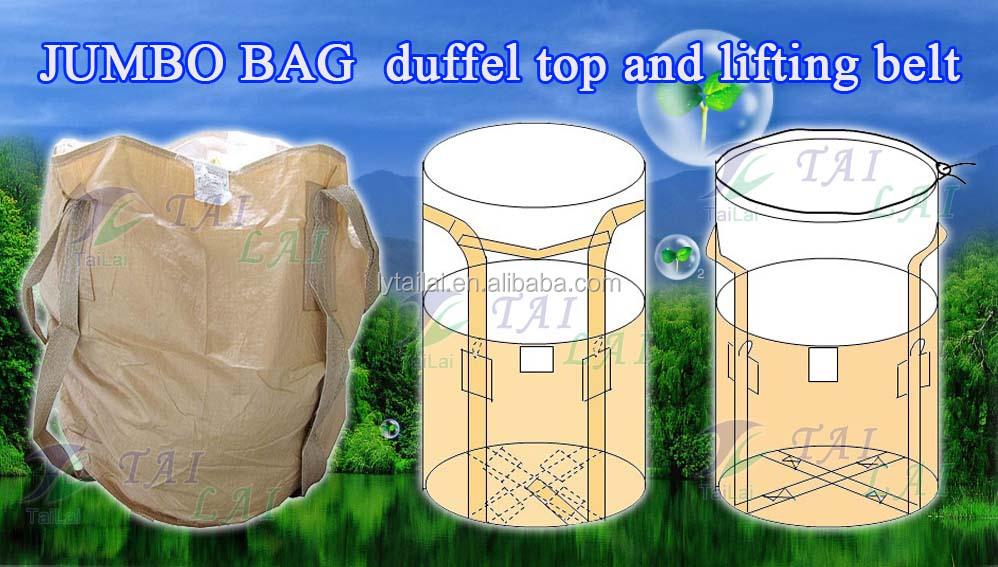 1 5 ton woven pp jumbo big bag for sand grain upside down. Black Bedroom Furniture Sets. Home Design Ideas