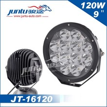 Alibaba China Wholesale high quality 12v automobile 9 inch 120w led driving light for Jeep, SUV