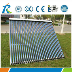 new heat pipe parabolic manifold solar collector, solar pool collector