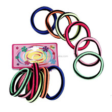 2015 hot selling colorful elastic hair bands hair rubber band
